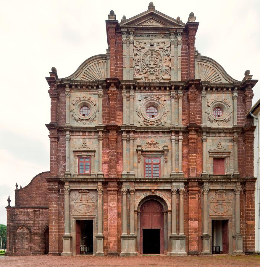 Basilica in Old Goa